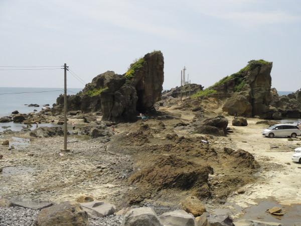 【遠景】双子岩