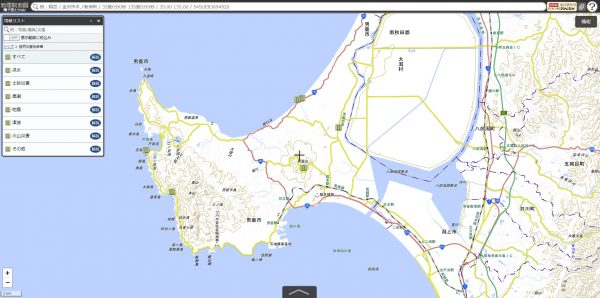 地理院地図自然災害伝承碑